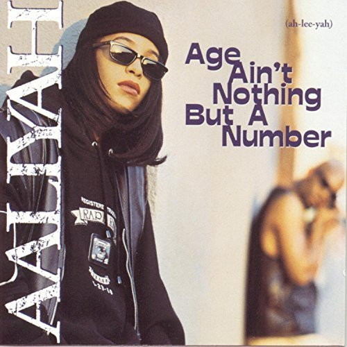 Bild 1: Aaliyah, Age ain't nothing but a number (1994; 14 tracks)