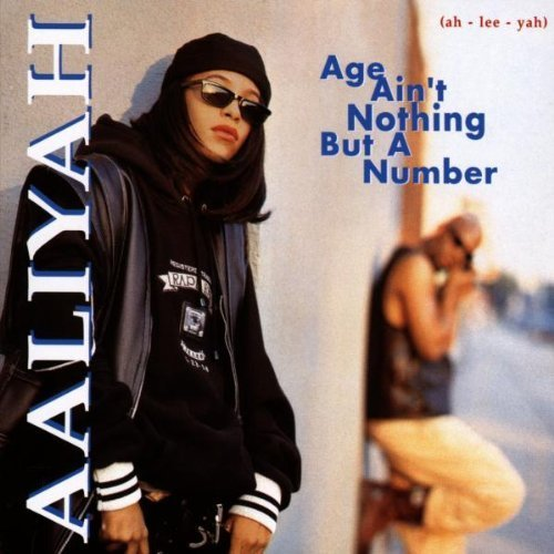 Bild 2: Aaliyah, Age ain't nothing but a number (1994; 14 tracks)