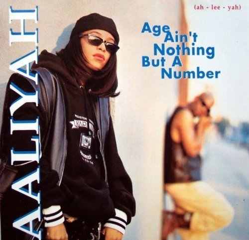Bild 3: Aaliyah, Age ain't nothing but a number (1994; 14 tracks)