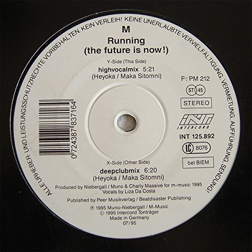 Фото 1: M, Running (the future is now!; 1995)