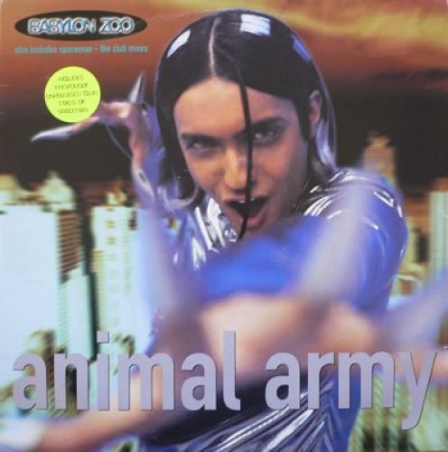 Bild 1: Babylon Zoo, Animal army (Arthur plays with Animals, 10:47min., 1996)