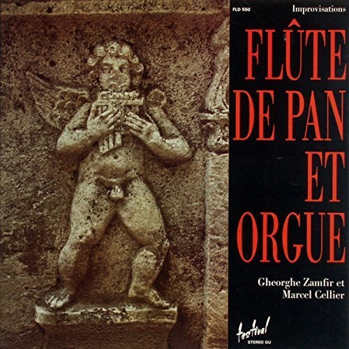Bild 1: Gheorghe Zamfir, Flûte de pan et orgue (et Marcel Cellier)