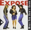 Exposé, What you don't know (1989)