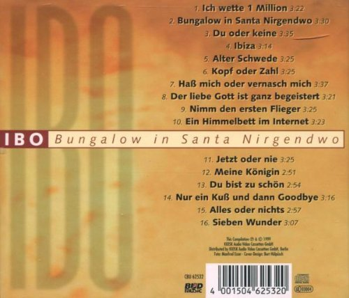 Bild 2: Ibo, Bungalow in Santa Nirgendwo (compilation, 16 tracks)