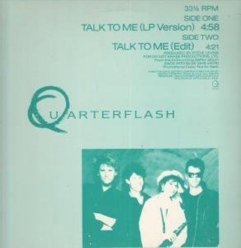 Bild 1: Quarterflash, Talk to me (4:58min., 1985)