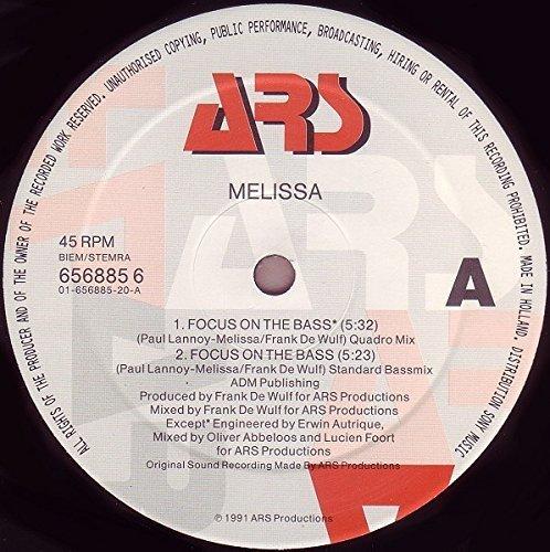 Bild 2: Melissa, Focus on the bass (1991)