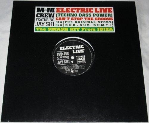 Bild 1: M & M Crew, Electric live (1990, feat. Jay Ski)