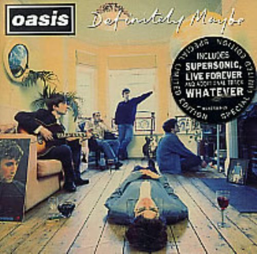 Bild 1: Oasis, Definitely maybe (1994)
