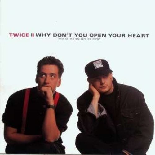 Bild 1: Twice, Why don't you open your heart (1988)
