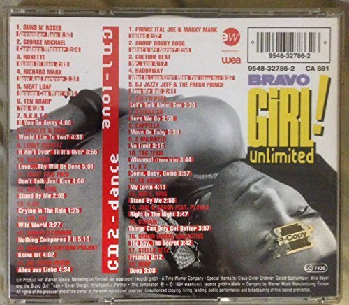 Bild 2: Bravo Girl Unlimited (1994), Guns n' Roses, George Michael, Roxette, Richard Marx, Meat Loaf..