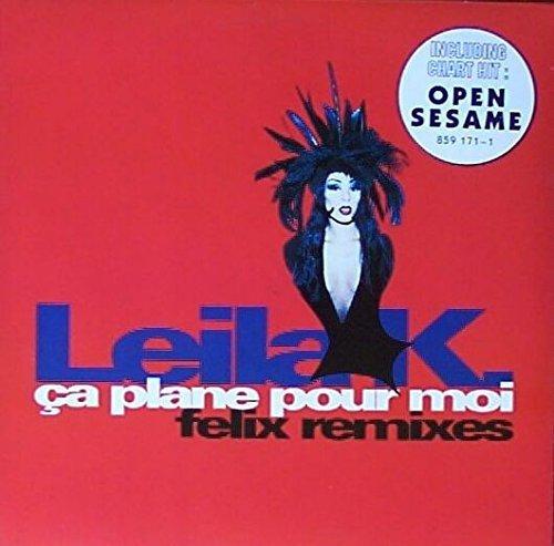 Bild 1: Leila K., Ça plane pour moi-Felix Remixes (1993)