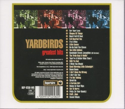 Bild 2: Yardbirds, 25 greatest hits (Repertoire)