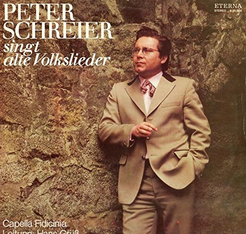 Bild 1: Peter Schreier, Singt alte Volkslieder