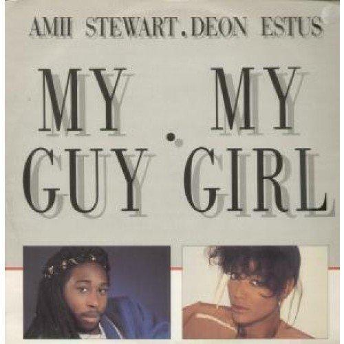 Bild 2: Amii Stewart, My guy, my girl (1985, & Deon Estus)