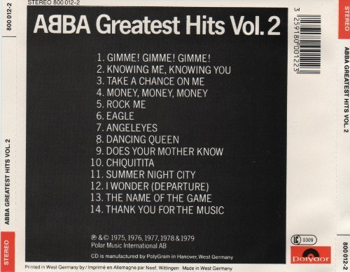 Bild 4: Abba, Greatest hits 2 (#polydor800012-2)