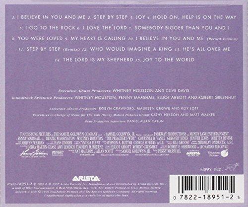 Bild 2: Whitney Houston, Preacher's wife (soundtrack, 1996)