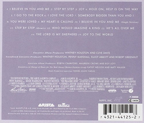 Bild 4: Whitney Houston, Preacher's wife (soundtrack, 1996)