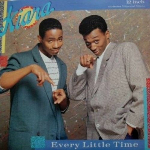 Bild 1: Kiara, Every little time-The Mixes (4 versions, 1988/89)