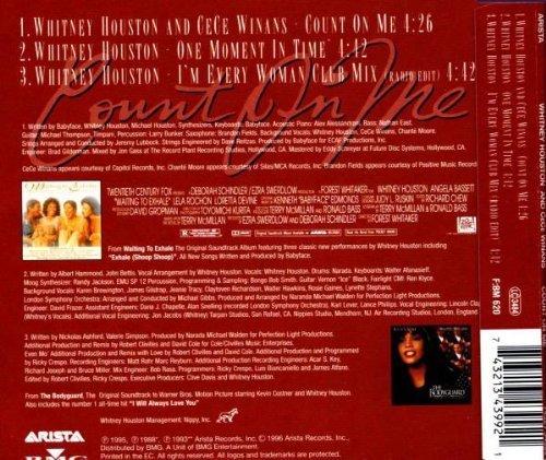 Bild 2: Whitney Houston, Count on me (1996, & Cece Winans)