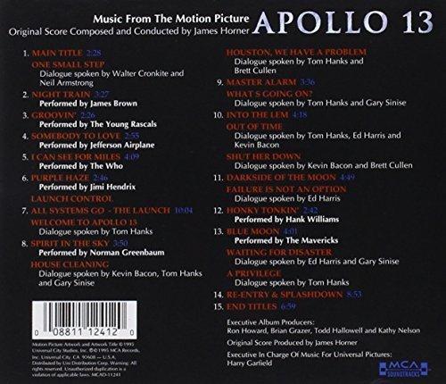 Bild 2: Apollo 13 (1995), James Horner, James Brown, Jefferson Airplane, Who, Jimmy Hendrix..