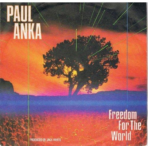 Bild 1: Paul Anka, Freedom for the world (5:49min., 1987)