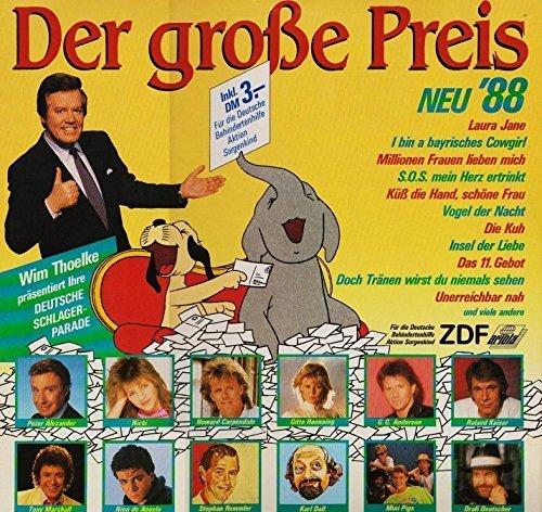 Bild 1: Der grosse Preis '88 Neu, G.G. Anderson, Howard Carpendale, Ibo, Nino de Angelo, Mini Pigs..