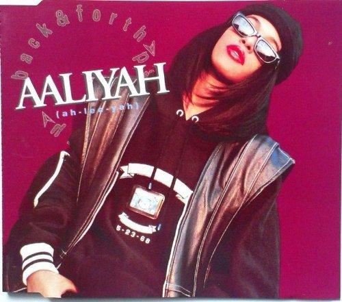 Bild 1: Aaliyah, Back & forth (1994)