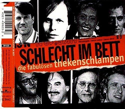 Bild 1: Die fabulösen Thekenschlampen, Schlecht im Bett (2 tracks, 1997)