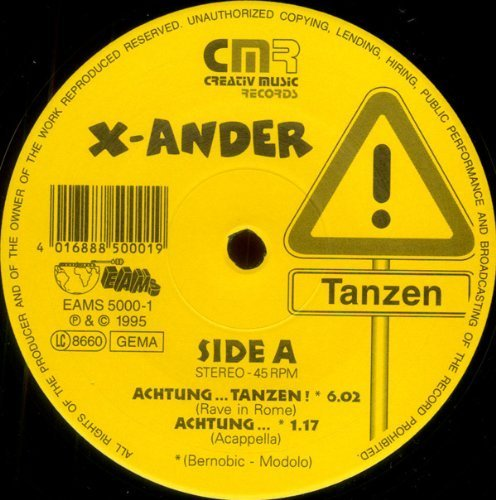 Bild 1: X-Ander, Achtung..tanzen! (1995)