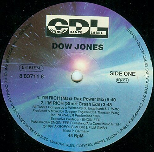 Bild 1: Dow Jones, I'm rich (4 versions, 1997)