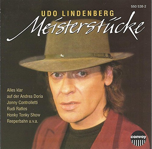 Bild 1: Udo Lindenberg, Meisterstücke (compilation, 12 tracks, 1973-81)