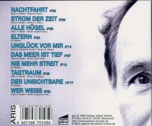 Bild 2: Hannes Wader, Zehn Lieder (1995)