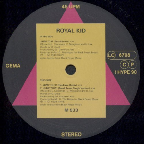 Bild 1: Royal Kid, Jump to it!-Remix (1990)