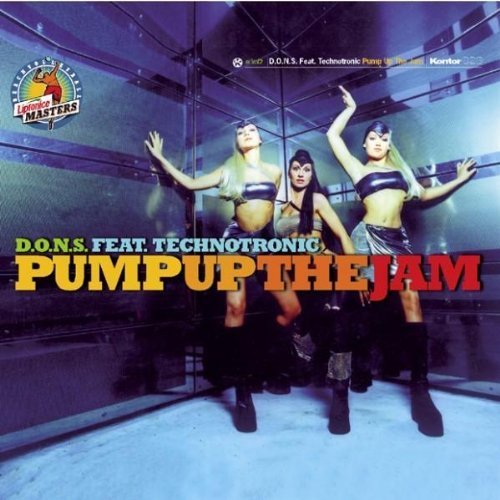 Bild 1: D.O.N.S., Pump up the jam (1998, feat. Technotronic)
