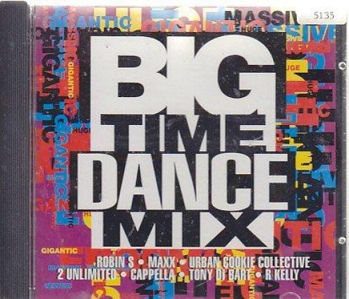 Bild 1: Big Time Dance Mix (1994), Erik, Maxx, Urban Cookie Collective, Haddaway, Robin S, Snap..