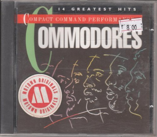 Bild 1: Commodores, Compact command performances-14 greatest hits (1972-81)