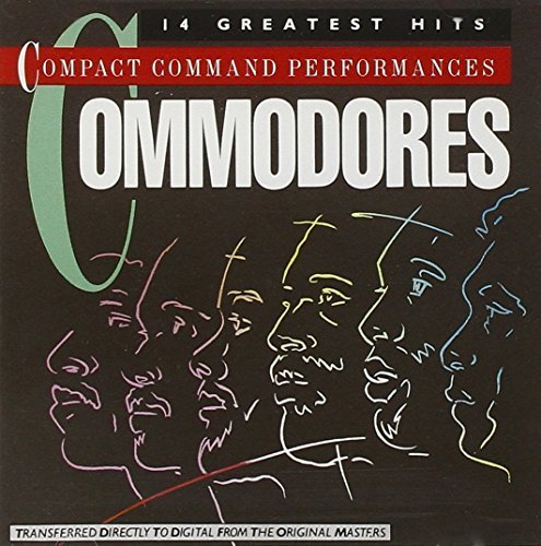 Bild 3: Commodores, Compact command performances-14 greatest hits (1972-81)