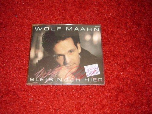 Bild 1: Wolf Maahn, Bleib noch hier (1989)