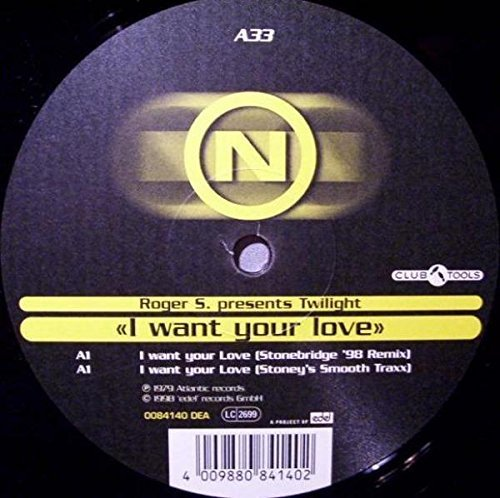 Bild 1: Roger S. pres. Twilight, I want your love (Stonebridge '98 Remix)