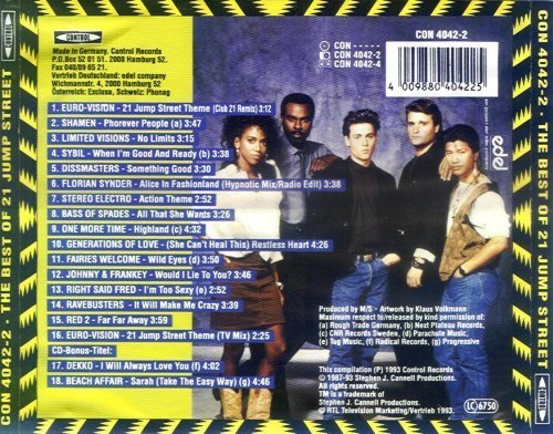 Bild 2: 21 Jump Street-The Best of (1993), Shamen, Limited Visions, Sybil, Right said Fred..