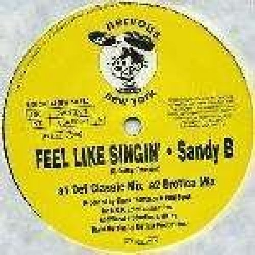 Bild 1: Sandy B, Feel like singin' (4 versions, 1993)