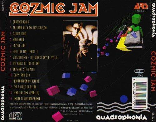 Bild 3: Quadrophonia, Cozmic jam (1991)