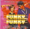 Funky Funky (1995, EMI), Earth, Wind & Fire, Crusaders, James Brown, Temptations, Curtis Mayfield..