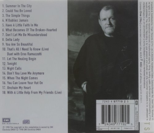 Bild 2: Joe Cocker, Greatest hits (18 tracks, 1998)