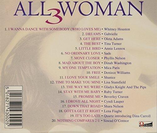 Фото 2: All Woman 3 (1994), Whitney Houston, Gabrielle, Oleta Adams, Tina Turner, Annie Lennox..