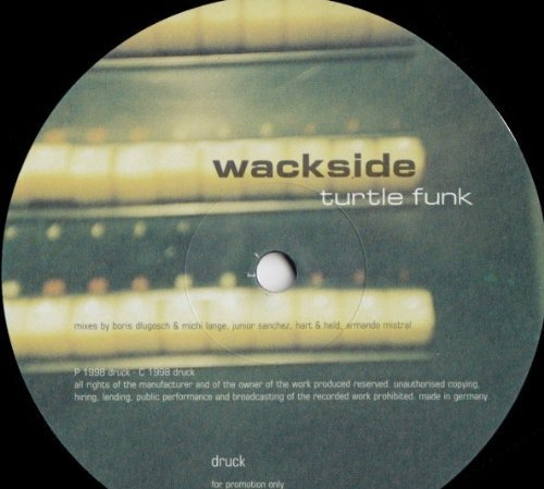 Bild 1: Wackside, Turtle funk (1998)