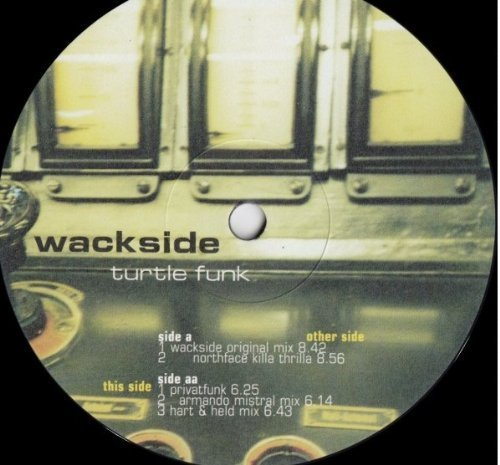Bild 2: Wackside, Turtle funk (1998)