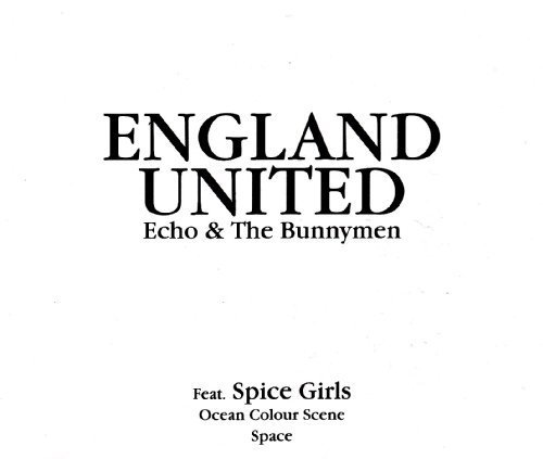 Bild 1: England United (Echo & the Bunnymen, Spice Girls..), (How does it feel to be) on top of the world (1998)
