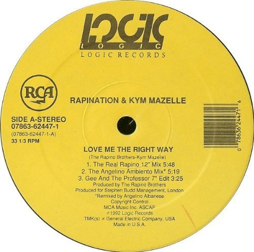 Фото 1: Rapination, Love me the right way '96 (& Kym Mazelle)