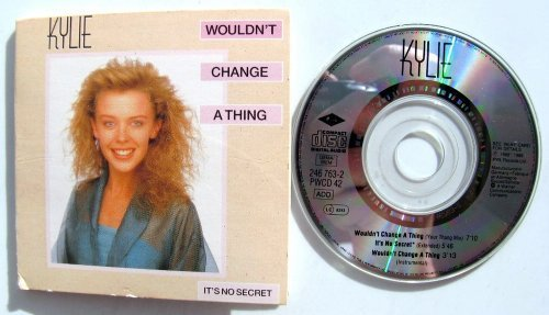 Bild 1: Kylie Minogue, Wouldn't change a thing (1989; 3'')